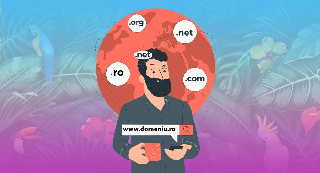 nume domeniu, website, hosting